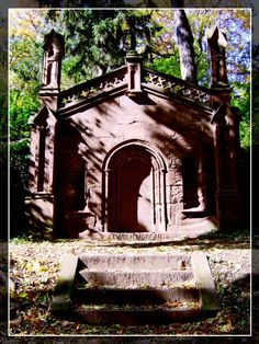 Mt. Hope Cemetery - is haunted. I had a very scary experience on a sunny June morning.
