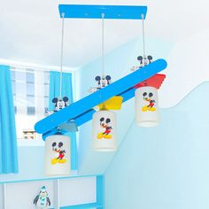 157.25$  Watch now - http://alivcy.worldwells.pw/go.php?t=32773568623 - Cartoon Children's Room LED Pendant Lights 110V-220V E27 Bulb Child Home Hanging Fixtures Lighting Living Led Pendant Lamp Light