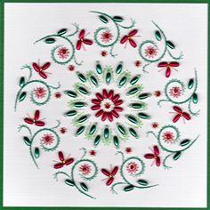 ED090  Pinbroidery Pattern by Emy van Schaik (for sale)