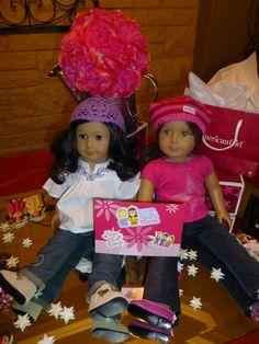 American girl party decor - adorable for a girly party idea #girlyparty #birthday