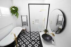 Room Ideas: Tile inspiration for bathrooms, kitchens, living rooms & The Block Bathroom, Baby Bathroom, Small Bathroom, Bathroom Drawing, The Block Australia, Beaumont Tiles, Bathroom Photos, Bathroom Ideas, Bathroom Stuff