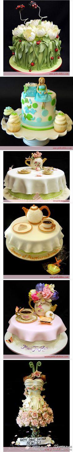 WOW -- some amazing cakes!