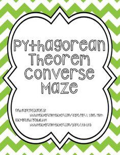 Pythagorean Theorem Converse Lesson | CrossCurricular Literacy 4-12 ...
