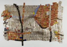 Sacred Moon, El Anatsui | on view @ NCMA March 18-July 29, 2012 in El Anatsui: When I Last Wrote to You about Africa