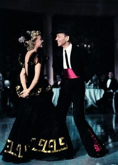 Ginger & Fred...About To Dance Yet Again....Their Movies Together Are Timeless...Their Friendship Was Deep...No Romance, But A Great Screen Pairing!!