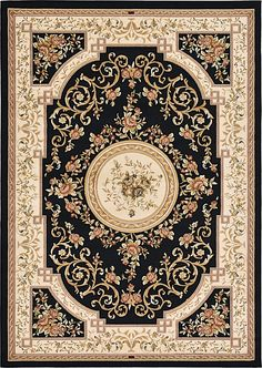 Unique Loom 3121993 Area Rug, 7 X Multicolored ** Read more at the image link. (This is an affiliate link) Navy Blue Area Rug, Blue Area Rugs, Aubusson Rugs, Cheap Carpet Runners, Carpet Design, Rugs In Living Room, Persian Rug, Floor Rugs, Book Covers