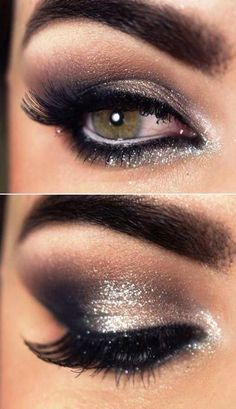 black tie event makeup - Google Search                                                                                                                                                                                 More
