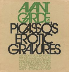 Avant Garde #8  Art director: Herb Lubalin