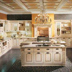 Italian kitchen design videos nowadays is an international acknowledged Aster, Kitchenaid Mixer Colors, Kitchen Designs Photo Gallery, High End Kitchens, Luxury Kitchen Design, Small Loft, Modern Baths, Home Decor Online, White Paneling