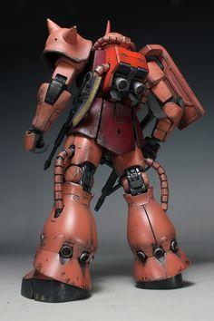 GUNDAM GUY: MG 1/100 MS-06S Char's Zaku II 2.0 - Painted Build