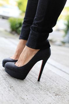 black on black: perfect!
