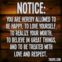 Notice...