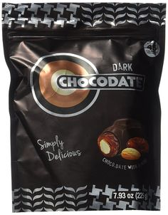 Ziyad Chocolate Dates, Dark, 225 Gram >>> You can get more details by clicking on the image.