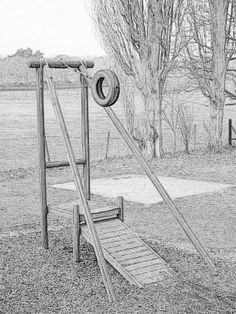 Zip Line Anchors Zip Line Backyard, Backyard Play, Backyard For Kids, Backyard Ideas, Porch Ideas, Backyard Patio, Garden Ideas, Natural Outdoor Playground, Diy Playground