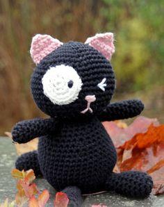 Вязаный кот крючком - кот амигуруми от DROPS Design. Инструкция о том, как…