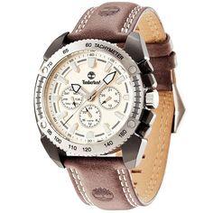 Ρολόγια : Ρολόι Timberland Bennington Multifunction Black Leather Strap - 13901JSBS-07