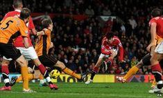 Park Ji-Sung scores the winner for Manchester United against Wolves in 2010