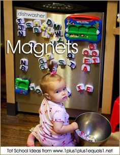 Tot School Magnets 12-18 Months