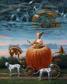 """# 46   Time To Be A Queen 30"""" x 24"""", oil on canvas, 2012"""