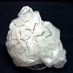 Calcite and Pyrite / Chenzhou Prefecture, Hunan Province, China / Mineral Friends <3