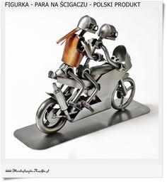 ON i ONA na ścigaczu Prezent dla miłośników motocyklów