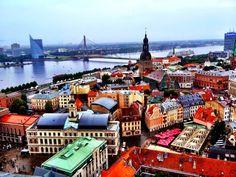 ARQUITETANDO IDEIAS: A gente quer comida e cultura - Descobrindo Riga