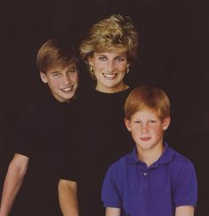 Diana with William & Harry