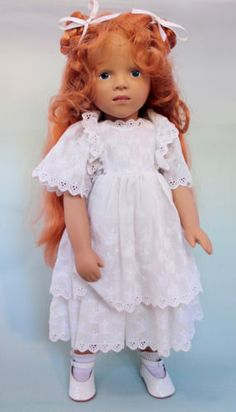 Rare-Gotz-Goetz-Redhead-Sylvia-Natterer-Fanouche-Doll-similar-to-Sasha-dolls