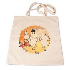 Handy Moomin fabric bag featuring Moomins at the Rivera.