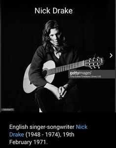 80s Music, Music Love, Rock Music, Nick Drake, Tony Evans, Tortured Soul, All About Music, Sound & Vision, Rock Posters