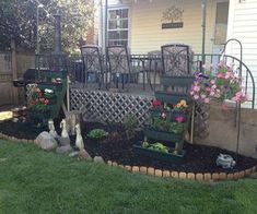 stringer planters it s tough getting old, diy, flowers, gardening, outdoor living, raised garden beds, woodworking projects