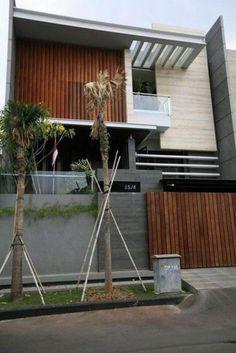 Top minimalist house design architecture home ideas Architecture Design, Facade Design, Exterior Design, House Front Design, Modern House Design, Modern Minimalist House, Narrow House, Modern Exterior, Garage Exterior