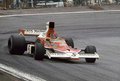 Emerson Fittipaldi (Marlboro McLaren M23 Cosworth) Grand Prix...