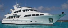 The sheikh takes the heroine on board a luxury yatch very similar to this one