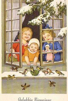 New YEAR CHILDREN 1930, Marie Flatscher