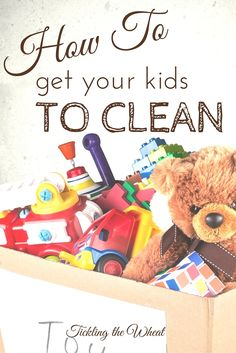 Monsters, hiding, and counting? I love using these unique ways to get kids to pick up toys. How to Get Your Kids to Clean