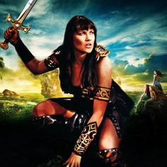 Xena Warrior Princess Fighting