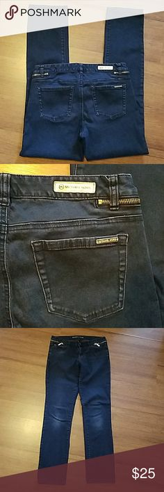 Michael Kors jeans size 8 Michael Kors dark jeans size 8. Inseam is 30 inches. Cotton/spandex Michael Kors Jeans