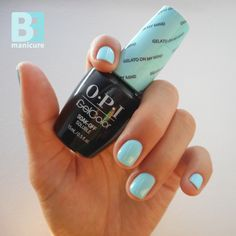 OPI GelColor Gelato on My Mind (GC-V33) #opivenice