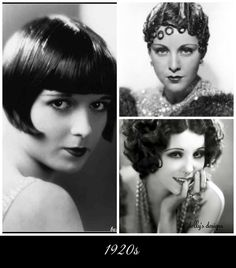dolly's designs: Hairstyles Through The Years