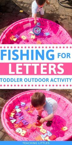 Toddler Outdoor Sensory Activity