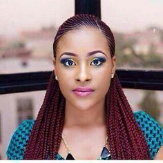 ALL HAIR MAKEOVER: Burgundy cornrow hairstyles Braids burgundy Burgundy cornrow hairstyles Ghana Braids Hairstyles, Braids Hairstyles Pictures, Braids Wig, African Hairstyles, Braided Hairstyles, Hairstyles 2018, Gorgeous Hairstyles, Carrot Hairstyles, Cardi B Braids