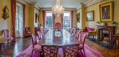 Derwent Island House dining room
