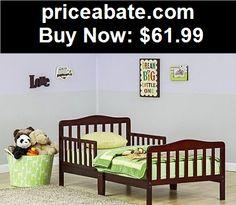 Kids-Furniture: Toddler Bed Child Kids Bedroom Furniture Girls Boys Set Bedding Wood - New - BUY IT NOW ONLY $61.99