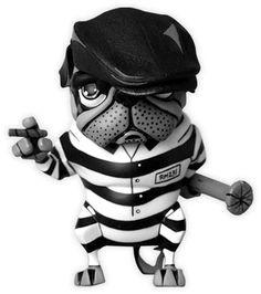 Pug gângster Jailbreaker