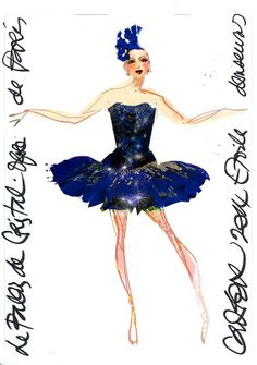 Costume de Christian Lacroix pour l'Opéra de Paris,  http://journalduluxe.fr/christian-lacroix-costumes-opera/