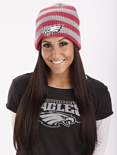 #EaglesTBC  Women's New Era Pink Breast Cancer Awareness Knit Hat...me this winter lol