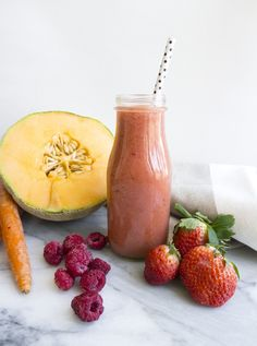 Beauty Booster Smoothie: Carrot Berry