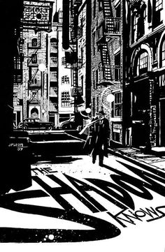 The Shadow Art by John Paul Leon