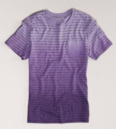 AE Striped Tee. Oh my word it's purple!!!!